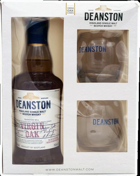 Deanston Virgin Oak Single Malt Scotch Gift Set