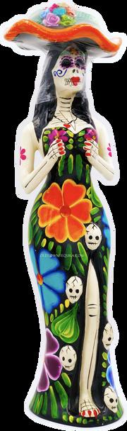 Tequila Epifania Anejo Katrina Black Flower Edition