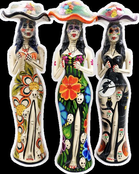 Tequila Epifania Anejo Katrina Edition Collectors Set