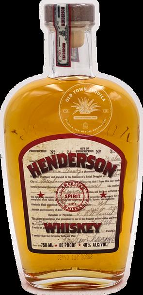 Henderson Blended Whiskey