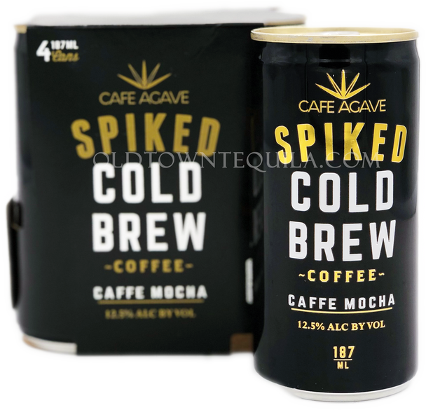 Spiked Cold Brew Caffe Mocha Coffee 4 Pack