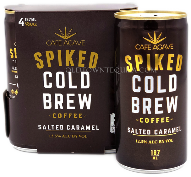 Spiked Cold Brew Salted Caramel Coffee