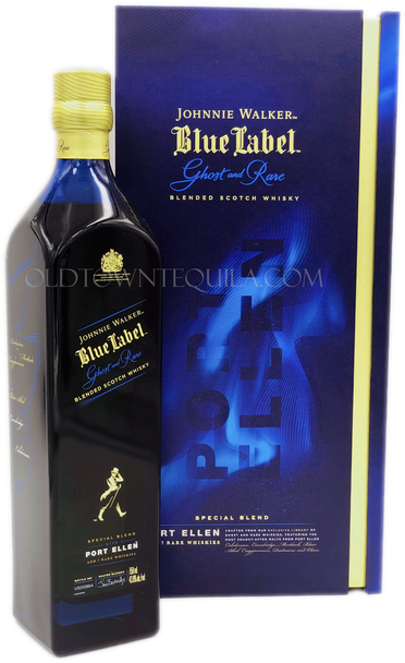 Johnnie Walker Blue Label Ghost and Rare Port Ellen Blended Scotch Whisky