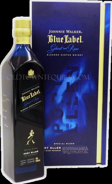 Johnnie Walker Blue Label Ghost and Rare Port Ellen Blended Scotch Whisky
