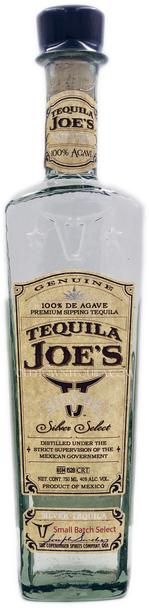 Tequila Joe's Silver Select Tequila