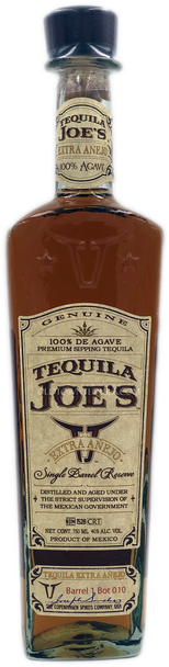 Tequila Joe's Extra Anejo Tequila