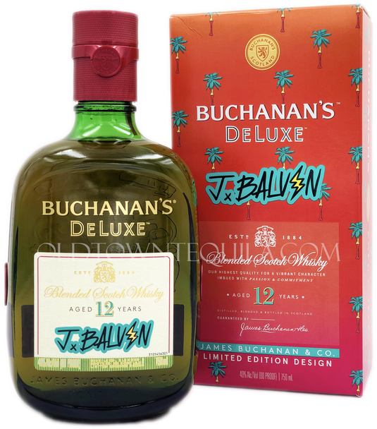 Buchanans Deluxe J Balvin 12 Year Limited Edition Scotch