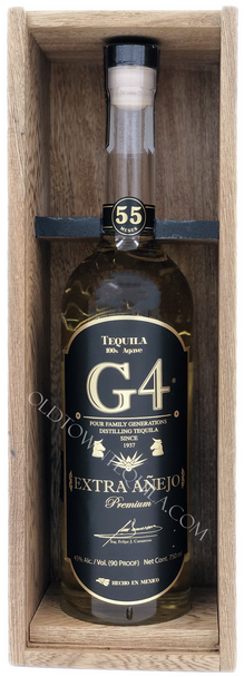 G4 Extra Anejo 55 Months Tequila Limited Edition