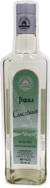 Cascahuin Blanco Tequila