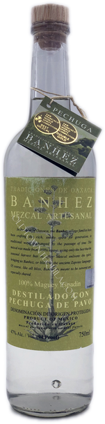 Banhez Destilado con Pechuga de Pavo