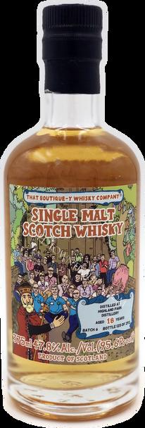 That Boutique-y Highland Park 18 Year Old Single Malt Scotch Whisky 375ml