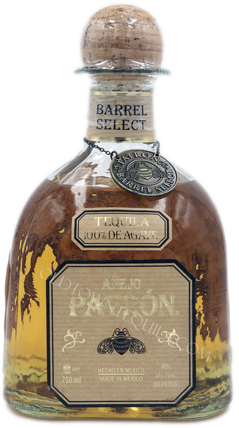 Patron Single Barrel  Hungarian Oak  Anejo Tequila