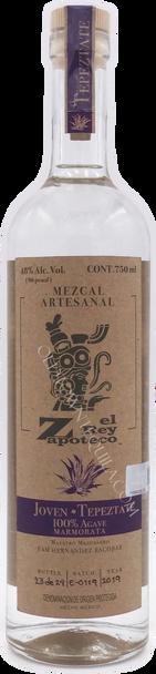 El Rey Zapoteco Joven Tepeztate Mezcal