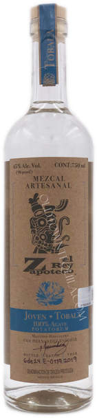 El Rey Zapoteco Tobala Joven Mezcal