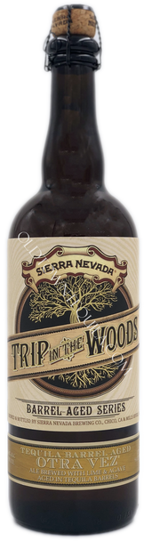 Sierra Nevada Trip in the Woods Tequila Barrels Aged Beer