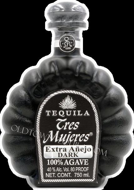 Tres Mujeres Extra Anejo Dark Tequila