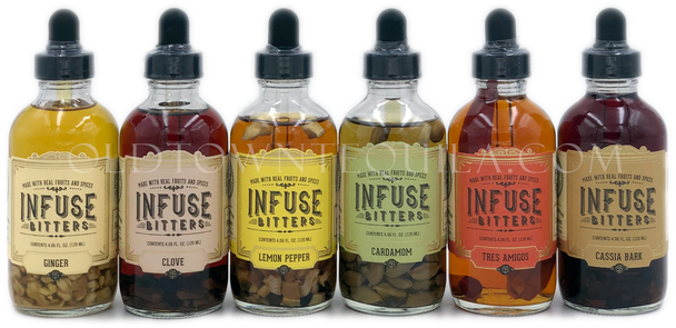 Infuse Bitters 6 Bottle Set