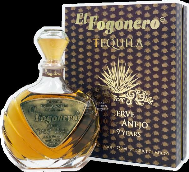 El Fogonero 9 Years Extra Anejo Tequila