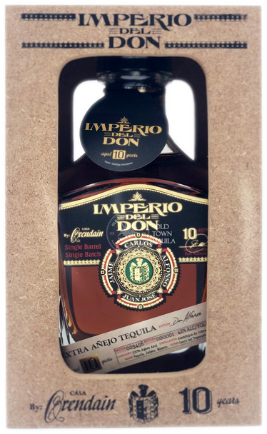 Imperio Del Don 10 Years Extra Anejo Tequila Don Alfonso