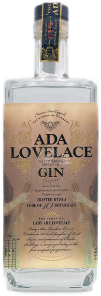 Ada Lovelace Gin 750ml