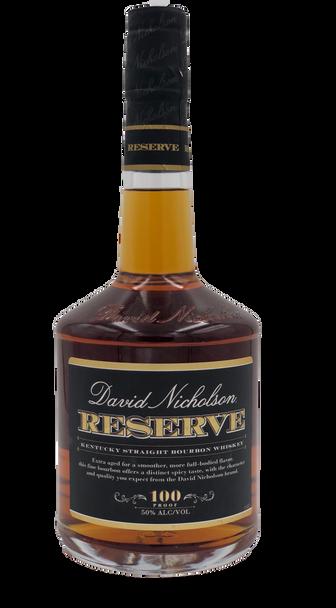 David Nicholson Reserve Kentucky Straight Whisky