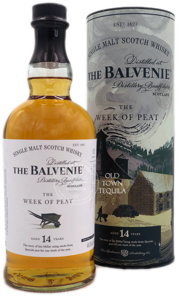 The Balvenie The Week of Peat 14 years Single Malt Scotch Whisky 750ml