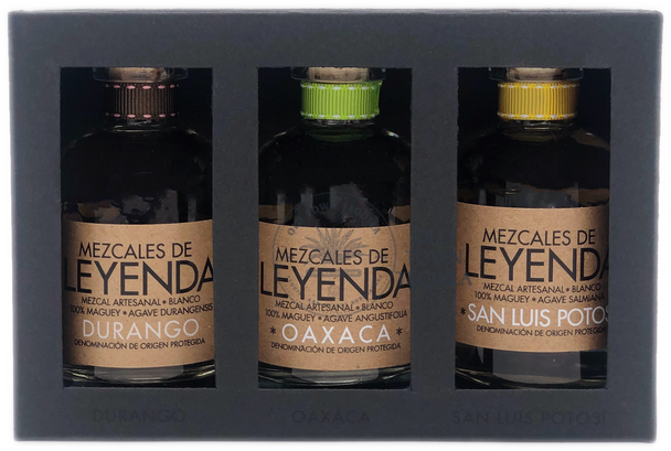 Mezcales De Leyenda Mini Bottle Set