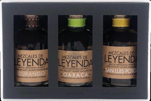 Mezcales De Leyenda Mini Bottle Set