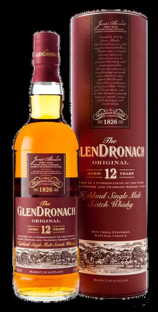 Glendronach Single Malt Scotch Whiskey 12Yr