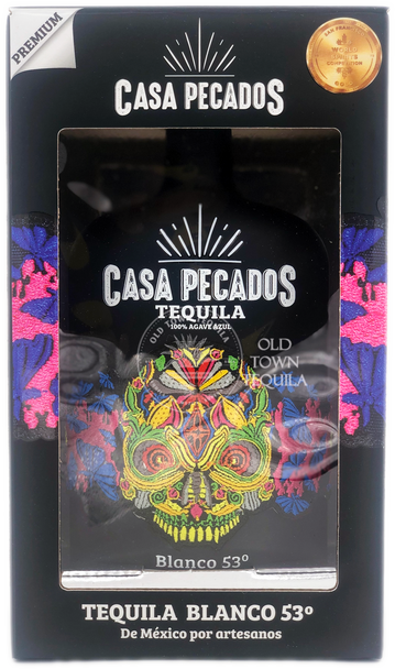 Casa Pecados Blanco 53 Tequila 750ml in box