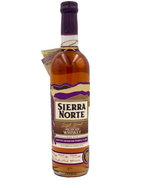 Sierra Norta SB Purple Corn Mexican Whisky
