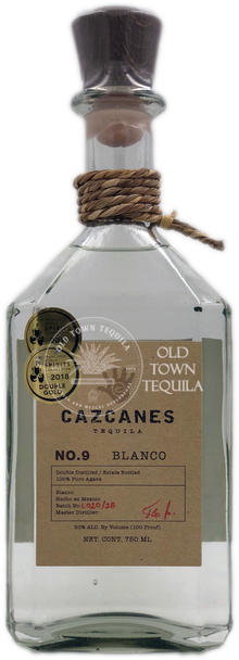 Cazcanes No. 9 Blanco Tequila 750ml