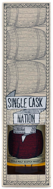 Single Cask Nation Glenburgie 20 Years Old Single Malt Scotch Whisky 750ml