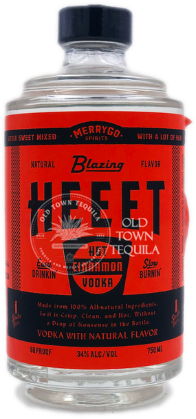 MerryGo Spirits Heeet Cinnamon Vodka 750ml