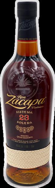 Ron Zacapa Sistema Solera 23 Gran Reserva Rum 750ml