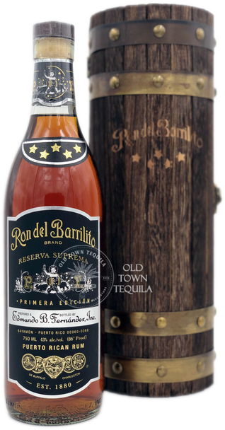 Ron Del Barrilito 5 Star Reserva Suprema Primera Edicion Rum 750ml
