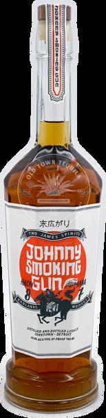 Two James Johnny Smoking Gun Whiskey 750ml
