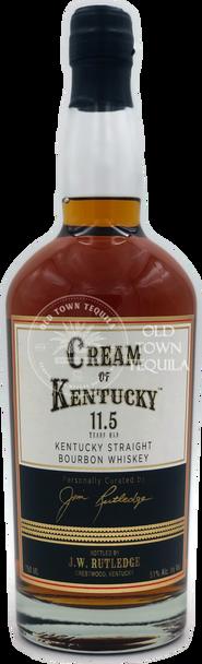 J. W. Rutledge Cream of Kentucky 11.5 Year Old Straight Bourbon Whiskey 750ml