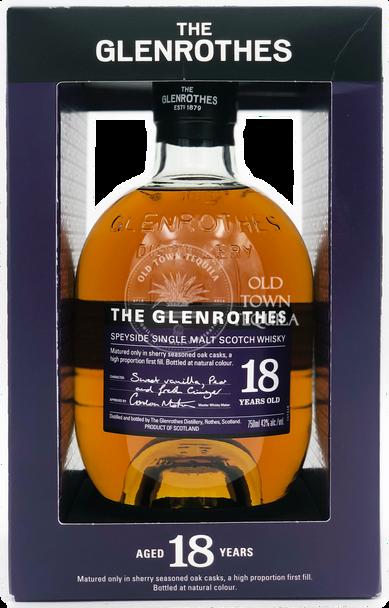 The Glenrothes 18 Year Old Speyside Single Malt Scotch Whisky 750ml