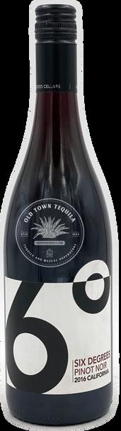 Six Degrees 2016 California Pinot Noir