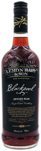 Lemon Hart & Son Blackpool Spiced Rum 750ml