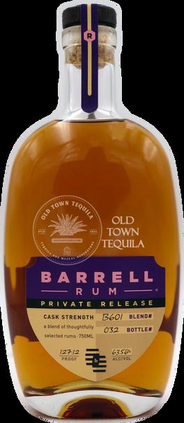 Barrel Rum Blend# B601 Private Release 750ml
