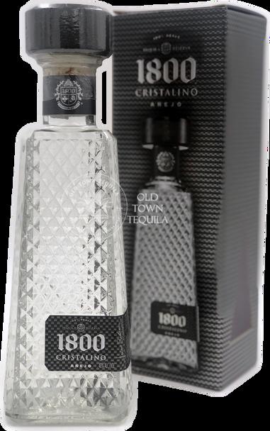 1800 Tequila Cristalino Anejo 750ml