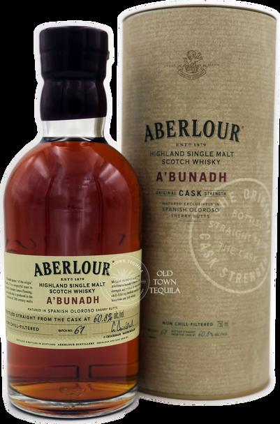 Aberlour A'bunadh Highland Single Malt Scotch Whisky 750ml