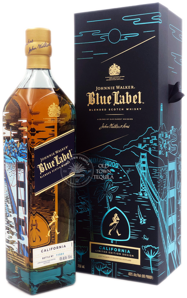 Johnnie Walker Blue label California Edition