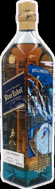 Johnnie Walker Blue label California Edition side 1