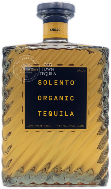 Solento Organic Anejo Tequila 750ml