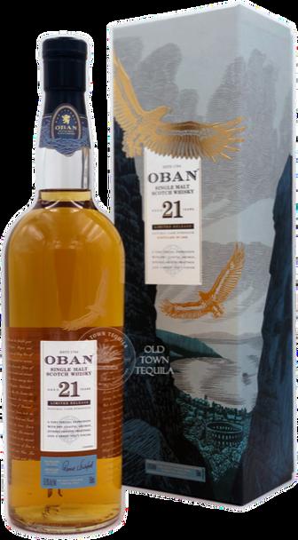 Oban Single Malt Limited Edition Cask 21 Years Old