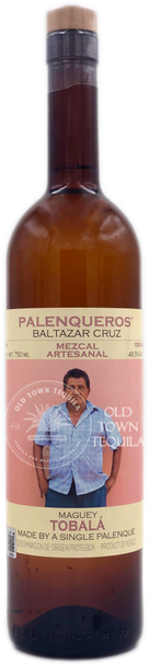Palenqueros Baltazar Cruz Tobala Mezcal 750ml
