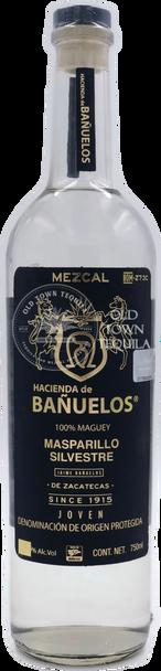 Hacienda de Banuelos Masparillo Silvestre Joven Mezcal 750ml